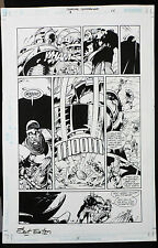 CREATURE COMMANDOS #8 PAGE 14 2000 ORIGINAL ART-BY SCOT EATON & RAY KRYSSING