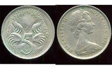 AUSTRALIE 5 cents  1973