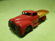 TEKNO DENMARK  1:43  DODGE  PICK UP  -  RED  YELLOW  -    IN GOOD CONDITION