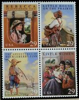 1993 29c Children's Classics, Block of 4 Scott 2785-88 Mint F/VF NH