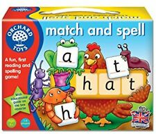 Orchard Toys Match and Spell Board Game Educational Learning Toy Kids Play Gift