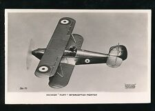 Aircraft Air Force Military RAF HAWKER FURY Interceptor Fighter RP PPC