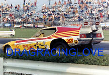 """Tom & Jerry"" Harlen Thompson 1972 Ford Mustang NITRO Funny Car PHOTO!"