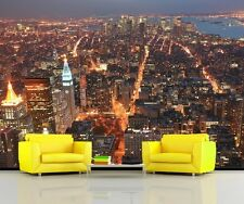 VIEW from EMPIRE STATE BUILDING Photo Wallpaper Mural NEW YORK CITY  MANHATTAN