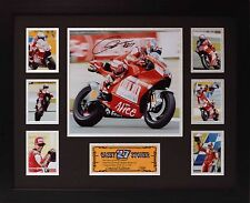 Casey Stoner Limited Edition Framed Signed Memorabilia