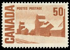 "CANADA 465A - Centennial ""Summer's Stores"" DF Paper with DEX Gum (pf84328)"