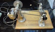 Watchmakers Bergeon 8mm lathe with Nely motor, drawbar & extra tool rest