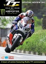 Isle of Man TT - Official Review 2012 (New DVD) McGuinness Anstey Rutter Martin
