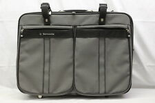 "New Vintage 26"" Samsonite Silhouette Soft Side Travel Case Bag Luggage Gray"