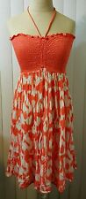 Raviya Swim Bikini Cover Up Dress Coral Size M