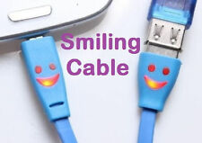 Smiling Micro USB Data Sync Charge Cable for Samsung Galaxy S6 /Edge+ S5 S4 S3