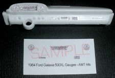 1964 FORD GALAXIE 500 XL GAUGE FACES!! - for 1/25 scale AMT KITS