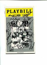 Sebastian Arcelus Janet Dacal Good Vibrations And Cast Signed Autograph Playbill