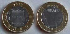 5 Euro Finnland 2012 Kathedrale Helsinki und Upenski unz.