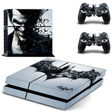 Batman design Cover Skin Sticker For PS4 PlayStation Console 2 Controller