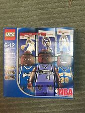 Lego NBA Collectors MiniFigure Set McGrady, Webber, & Houston Set 3567 NRFB