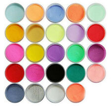 12pcs/set  Mix Colors Nail Art 3D Dust Powder Decoration Tips Jumbo F2C