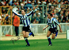 John SHERIDAN Signed Autograph 16x12 Sheffield Wednesday Goal Photo AFTAL COA