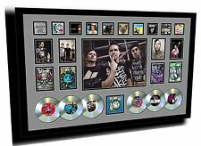 NEW BLINK 182 SIGNED LIMITED EDITION SIGNED FRAMED MEMORABILIA