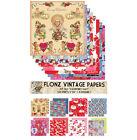 """Paper 24sh 6""""x6"""" # Valentine's Day Vintage # FLONZ 063 Craft Scrapbooking"""