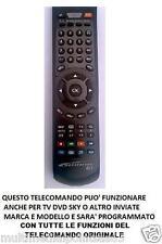 TELECOMANDO COMPATIBILE LETTORE DVD AUDIOLA  DVX 2754 D     DVX2754D
