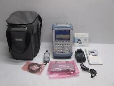 Rohde & Schwarz FSH 6 100kHz-6GHz Handheld Spectrum Analyzer 1145.5850.26 FSH-Z2