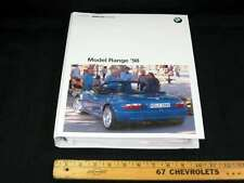 1998 BMW Full Line Car Press Kit Information Package Album w/ 18 Photos