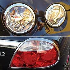 Jaguar S Type Chrome Headlight and Rear Light Trims
