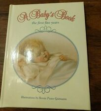Vintage Bessie Pease Gutmann A Baby's Memory Record Book Picture Photo Album-New