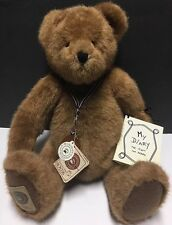 Boyds Collector's Edition Theodore Teddy Bear 100th Diary Coin w Tags 2001