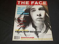 1994 FEBRUARY THE FACE MAGAZINE - BOBBY GILLESPIE - GREAT PHOTOS INSIDE - O 5789