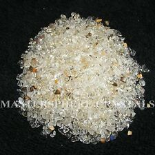 2000 x Clear Quartz Tumblestones Mini Chip Crystal 3mm-5mm Gemstone Wholesale
