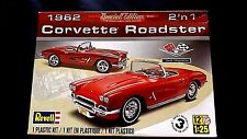Model Kit 1962 Chevrolet Corvette Roadster 2n1 Kit Revell 1:25 Skill 3