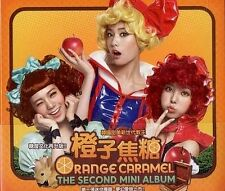 After School Orange Caramel The Second Mini Album CD New Sealed