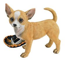 Chihuahua Sculpture Statue for Home or Garden