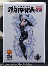 The Superior Spider-Man #29 - Fridge / Locker Magnet. Black Cat Variant