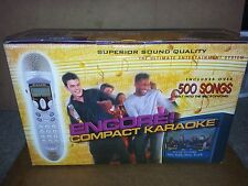 ENCORE COMPACT KARAOKE 103-A01- 002439 500 English Songs & 800 Songs Philippine