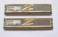 4GB (2 X 2 GB MATCHED PAIR) OCZ GOLD SERIES DDR2-800 PC2-6400 RAM