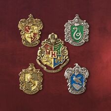 HOT Set of 5 pcs Harry Potter Hogwarts House Metal Pin Badge In Box