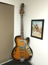 Vintage Rare Galanti Hollowbody Electric guitar Super Funky! 1960's