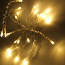 20 LED Fairy Christmas Haloween Wedding Lights 2m Warm White & Battery Operated