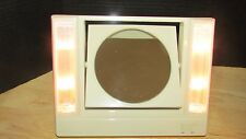 Vintage 1986 Avon Reflections of Beauty Lighted Vanity Make-Up Mirror 2 sided