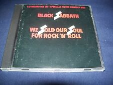 We Sold Our Soul For Rock N Roll - Black Sabbath (CD 1988) XCLNT Fast FREE Ship
