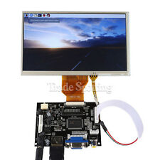 7 Inch TFT LCD Monitor Touchscreen + Driver Board HDMI VGA 2A for Raspberry Pi 3
