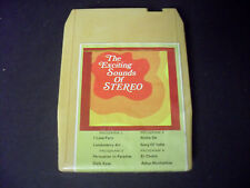 The Exciting Sound Of Stereo 8-Track Tape-Good Condition