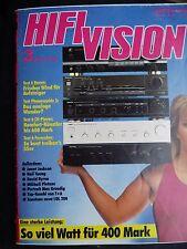 HIFI VISION 3/90 PHONOSOHIE 3,T+A 2000A,P 2000AC,DEUTSCH HD 312S,ARES L 50,ATL