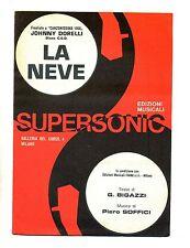 LA NEVE-TU CHE M'HAI PRESO IL CUOR#Spartito Supersonic #Johnny Dorelli-G.Morandi
