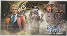 Dr Who Attack of the Cybermen Ltd edition cover signed Colin Baker.