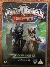 Power Rangers - Espacio Patrulla Delta - Vol. 5 - Zapped Raro OOP GB DVD