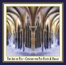 Art of Pan-Concert for Pan Flute & Organ, Telemann, Bach, Mozart, Franck, New
